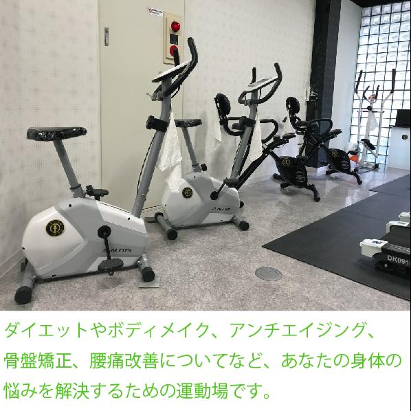 【天満橋家ちかフィットネス】お腹の内臓脂肪無くす器具で効率よくトレーニング効果を出せます。